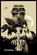 PROMETHEUS VARIANT EDITION POSTER PRINT MARTIN ANSIN MONDO X/200 SOLD OUT