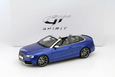 Audi RS5 CABRIOLET Construction Year 2012-15 Blue 1:18 gt-spirit