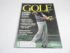 OCT 1982 GOLF --- vintage sports magazine --- RAY FLOYD