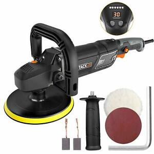 Polisher,Tacklife 7-Inch 12.5Amp 1500W Variable Speed Polisher,With Digital Scre