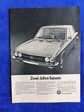 VW K 70 L-ANNONCE PUBLICITAIRE Publicité Publications 1972 __ (659
