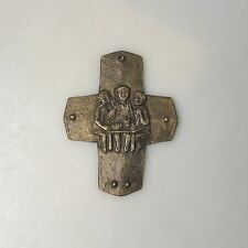 Sammlungsauflösung religiöse Volkskunst hochwertiges Kreuz Wandkreuz Bronze (28)