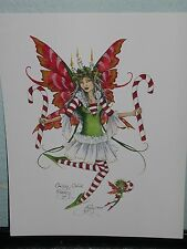 Amy Brown - Candy Cane Faery - OUT OF PRINT