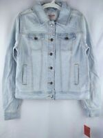 NWT Women's Denim Jacket Light Wash, Mossimo Supply Co. (Juniors') Free Shipping