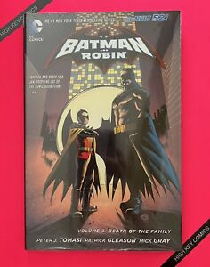Batman And Robin Vol 3 Death Of The Family HC GN DC 2013 NM