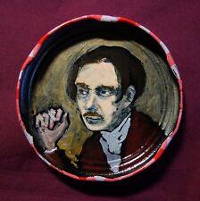 WYNDHAM LEWIS Jam Jar Lid Portrait, Literary, New Orleans Outsider Art PETER ORR