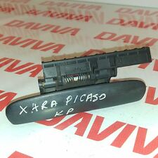 CITROEN XSARA PICASSO 2001 FRONT LEFT SIDE OUTSIDE HANDLE BLACK 9633343277
