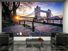 Bridge at Sunrise in London Wall Mural Photo Wallpaper GIANT DECOR Paper Poster