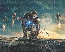 Iron Man signed Robert Downing Jr 8X10 photo picture autograph poster RP 4