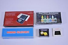 PuriTEST Gold/Silver/Platinum Testing Kit Diamond Selector II Scale & Magnifier