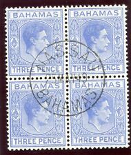 George VI (1936-1952) Bahamian Stamp Blocks