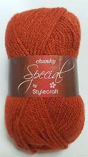 Stylecraft Special Chunky, 100g, COPPER, brown chunky yarn