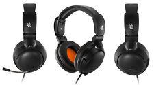 SteelSeries 5Hv3 Headband Gaming Stereo Headset for PC,Mac,Tablet,Phones (Black)