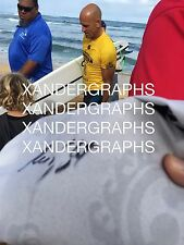 KELLY SLATER SIGNED AUTOGRAPHED SIGNATURE QUIKSILVER SURF BOARD SHORTS-PROOF COA