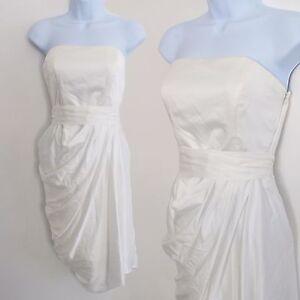 BNWT Stunning COAST Size 8 Saphire Dress Occasion Party Wedding Dress Ivory