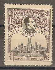 1920 CONGRESO DE LA UPU EDIFIL 308* NUMERACION A,000,000 MUESTRA