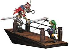 LOZ LEGEND OF ZELDA SKYWARD SWORD LINK VS SCERVO DIORAMA STATUE FIRST 4 FIGURES