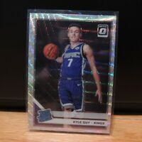 2019-20 Kyle Guy Rookie Card Panini Optic Silver Wave Prizm Fanatics Exclusive