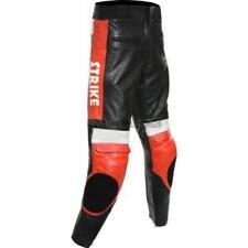 Pantalons toutes saisons rouges pour motocyclette Homme