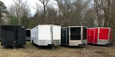 2021 8.5 x 24' V-Nose Enclosed Trailer Race Car Cargo *FREE DELIVERY SE states!!