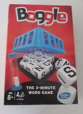 BOGGLE ~ HASBRO ~ THE THREE MINUTE WORD GAME