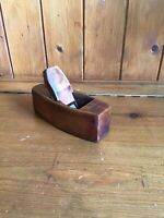 Vintage Wooden Small Coffin Plane - Block Bench Plane - JAMES HOWARTH Blade