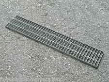 grigliato modulare standard zincato 25x76 canalina per scolo acqua 250x1000