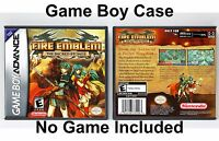 Fire Emblem: The Sacred Stones - Game Boy Advance GBA Case - *NO GAME*