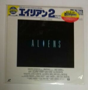 LASERDISC ALIENS JAPAN NTSC WITH  OBI