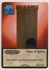 Spellfire 1996 Runes & Ruins Ultra Rare UR Chase 15/25 Tower of Spirits