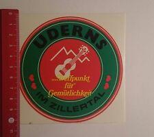 Aufkleber/Sticker: Uderns im Zillertal (19111620)