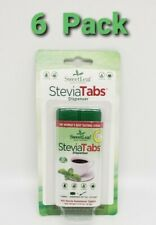 6 x 100 SweetLeaf  SteviaTabs Dispenser ( Travel Size ) BB 8/2020