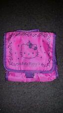 Hello Kitty Sanrio Pink & Purple Hanging Toiletry Bag