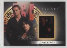 2008 #F9 Michael Shanks as Daniel Jackson Claudia Black Vala Mal Doran Card 2ts