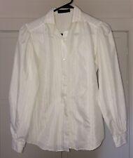 Vintage Women Clothing: LADY VAN HEUSEN Blouse White Size 8