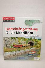 Landschaftsgestaltung für die Modellbahn GeraMond NEU & OVP