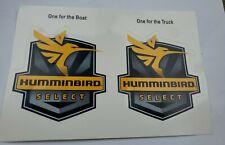"Humminbird Select Boat & Truck Decal Stickers Fishing Emblem 5""x4"""