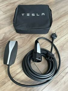 Tesla Model 3 EV Charging Cable UK Plug Socket Mains Home Electric Charge