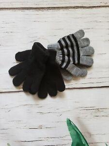 Toddler Knit Gloves 2 Pairs