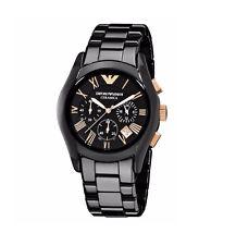 Emporio Armani Men's Watch Luxury Ceramic  Bracelet AR1410 WT Tag Original Box