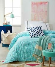 Remodo for Macy's Turquoise Wave 8 Piece Twin Xl Duvet Cover Boxed Room Set $300