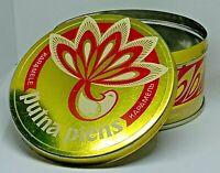 Vintage Soviet Empty Candy Tin Box - Caramel Putna Piens, USSR, Latvia 1970s