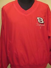 DALE EARNHARDT JR JACKET #8 Bud Large Red Black RN 93965 Race Car Driving Coat