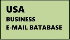 1.1 Million + USA Full Business  information - Phone, Email, Website,Address etc