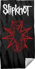 Slipknot Distressed Logo Beach Towel Music Rock Metal Ribbon Album 150910TW00
