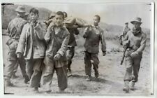 1950-53 British Soldier 1st Commonwealth Division Chinese Pows News Wirephoto
