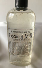 B.Witching Bath Co. Coconut Milk Foaming Bubble Bath 8 Oz Brand New