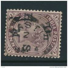 INDIA, squared Circle postmark BASTI (D)