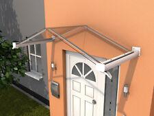 Gutta Giebelvordach GV/T 200 wei�Ÿ - Haustürvordach 200 x 90 cm mit Polycarbonat