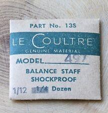 Original Jaeger Lecoultre 497 Futurematic balance staff Lecoultre Part 135 NOS